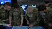 recon : Commander servicemen summons meeting, control apartment, security service, view world map, on Briefing in monitoring room, on manages station, on war base, military control