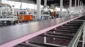 изоляция : production of soundproofing material on plant with large windows and modern machine-tool