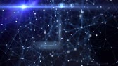 constellations : Abstract background Stock Footage