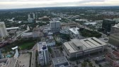 Aerial view of Fort Lauderdale, Florida. office buildings and streets