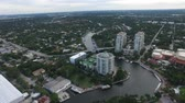 view of Fort Lauderdale, Florida. architecture and nature