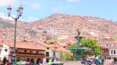 Cuzco, Peru. UNESCO World Heritage Site. Wideo
