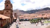 andy : Plaza de Armas in Cusco, Peru