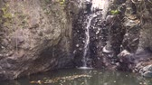 piscina : Waterfall in green rainforest. waterfall in the mountain jungle. Bali,Indonesia. Travel concept.
