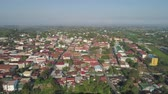 kulturní : Historic colonial town in Spanish style Vigan, Philippines, Luzon. Aerial view of Historic buildings in Vigan city