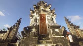 balinese : Hindu temple Bali,Indonesia. Balinese Hindu Temple, old hindu architecture, Bali Architecture, Ancient design, Nusa Penida island. 4K video. Travel concept.