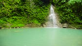 pedras : Cambais waterfalls in a mountain gorge in the tropical jungle, Philippines, Cebu. Waterfall in the tropical forest.
