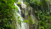 pedras : Waterfall in the rainforest jungle. Tropical Cambais waterfalls in mountain jungle. Philippines, Cebu