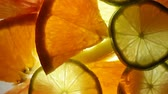 Citrus fruit mix rotating