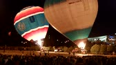 baloon : Air balloons in the night