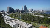 построен структуры : Time laps video of the skyline of Perth, Western Australia