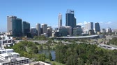 point of interest : Skyline of Perth, Western Australia
