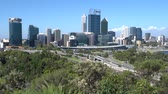 urbane : Skyline of Perth, Western Australia