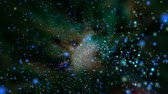 galaxy : Travelling  through colorful outer space