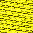 사선 : black word super sale on a yellow background 무비클립