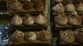 aromatik : panorama from above on many opera cake slices