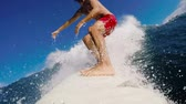 fitness : POV Surfing Slow Motion