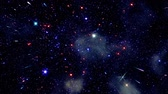 éterický : Space 2002: Stock footage of flying through star fields in deep space (Loop).