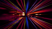 akıllı : Video Background 2229: Futuristic technology abstraction with streaming light effects (Loop).