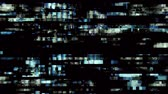 elektronika : TV Noise 1017: Data glitch digital TV malfunction (Loop).