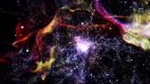 caminho : Space 2007: Flying through star fields in deep space.