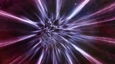 Space 2009: Flying through a wormhole in outer space (Loop). Wideo