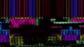 insetto : Data Glitch 031: Malfunzionamento del video digitale (Loop). Filmati Stock