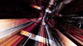 tunel : Digital Graffiti 068: Traveling through a maze of streaming data and video flux (Loop).