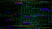 błąd : Glitch 1042: Digital noise video damage (Loop).