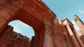 requintado : Jarash is One of the Surviving Roman Cities. Summer Trip Through the Ancient City. Stock Footage