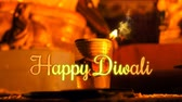 Happy dipawali Greeting, Oil Diya flame animation, motion graphics, advertising, concept design for Festival.  Happy diwali Indian oil lamp flame animation for advertising.