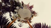 Ambato, Ecuador - 19 September 2017: Spherical View Of Cevallos Park In Ambato Ecuador In Ambato On September 19, 2017