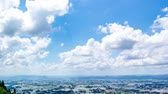 imagens : time-lapse of blue sky and cloud Stock Footage