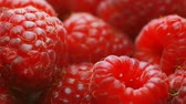 owoc : Fresh raspberry fruits as food background. Healthy food organic nutrition. frontal view
