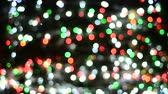 disco : Colorful defocused bokeh lights
