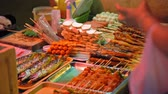 streetfood : traditional Asian food, street food market.