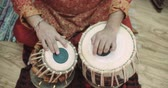 pakistan : 4k, Close-up of man playing the tabla drum