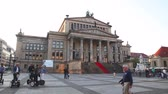 BERLIN - OCTOBER 4: Concert hall (Konzerthaus) at Gendarmenmarkt square on October 4, 2014 in Berlin, Germany. Its a concert hall situated on the Gendarmenmarkt square in the central Mitte district of Berlin.