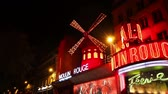 boates : PARIS - OCTOBER 13:  The Moulin Rouge cabaret on October 13, 2014 in Paris, France. Moulin Rouge is best known as the spiritual birthplace of the modern form of the can-can dance.