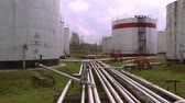 нефтехимический : Tanks for oil storage.Storage of flammable substances at the plant.