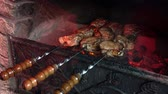 xampu : The meat on the skewers,