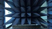 frekans : automatically closing door of radio-frequency anechoic chamber
