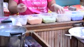 rice pudding : Cooking Thai Dessert : Khanom Tom (Coconut Balls)
