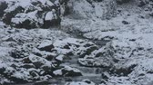 jezera : Motion of stream from waterfalls of Kaunertal glacier in Kaunergrat nature park near Pitztal Valley in region of Tyrol is a historical region in the Alps at northern Italy and western Austria Dostupné videozáznamy
