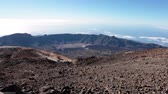 surrounding environment : One of the worlds most magnificent landscapes viewed from route No. 10 (Telesforo Bravo) to the Crater of Teide volcano, Spains highest peak. Tenerife, Canaries, Spain