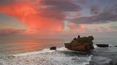 tanah lot : Pura Tanah Lot Temple at sunset. Bali