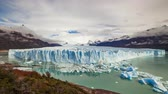 Патагония : Glacier Perito Moreno National Park in autumn. Argentina, Patagonia