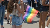homo : Tel Aviv, Israel , 8 June 2018 Gay Pride Parade for human rights