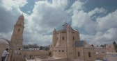 judaísmo : The dormition abbey in old city Jerusalem