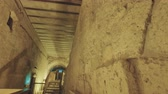 judaísmo : The Western wall tunnels in old city Jerusalem